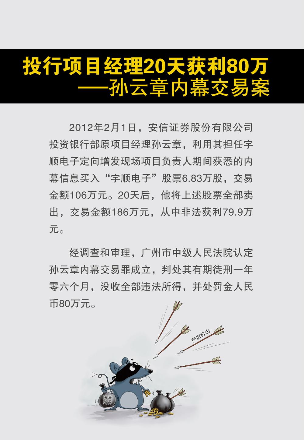 上海证监局内幕交易教育警示展30